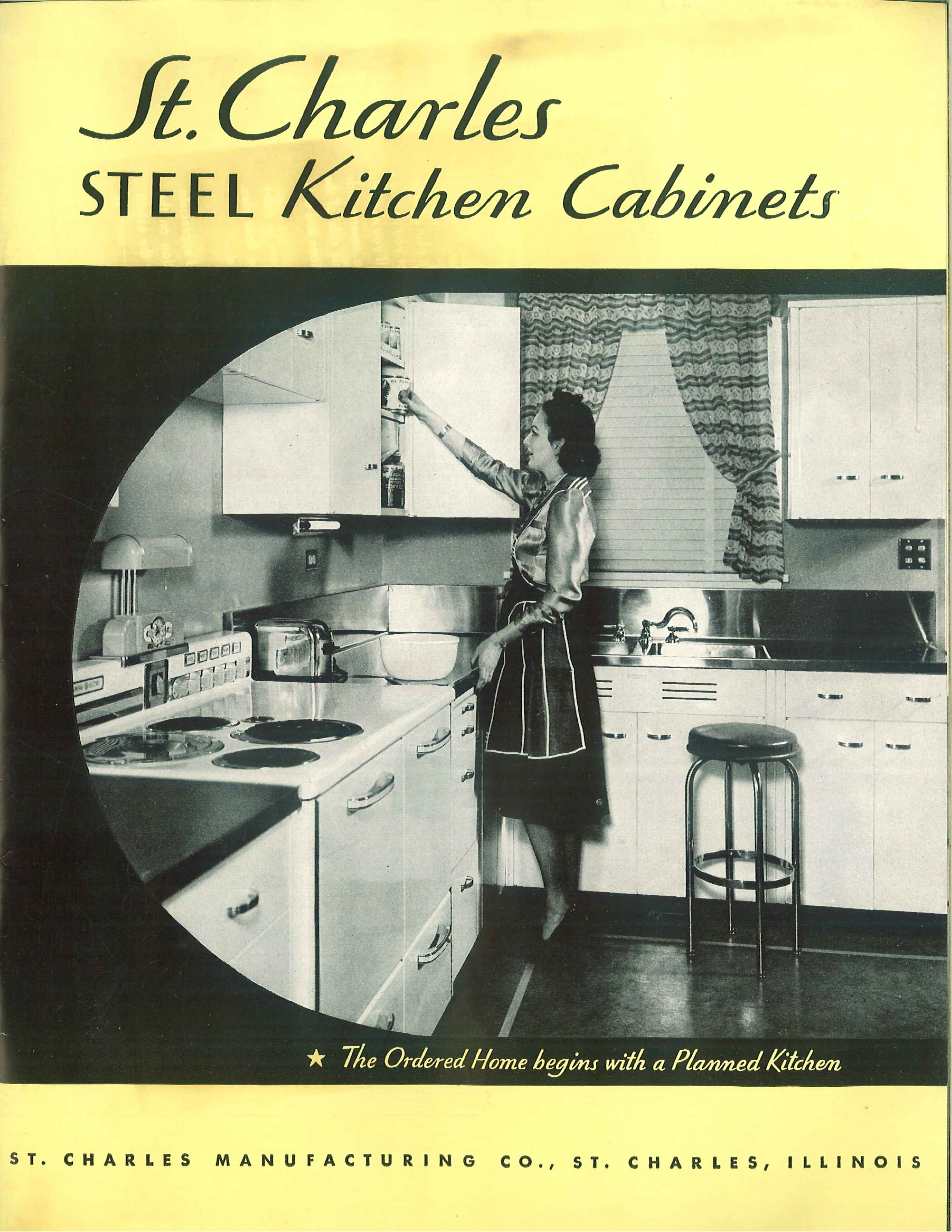 St Charles Steel Kitchen Cabinets St Charles Manufacturing Company Free Download Borrow And Streaming Internet Archive